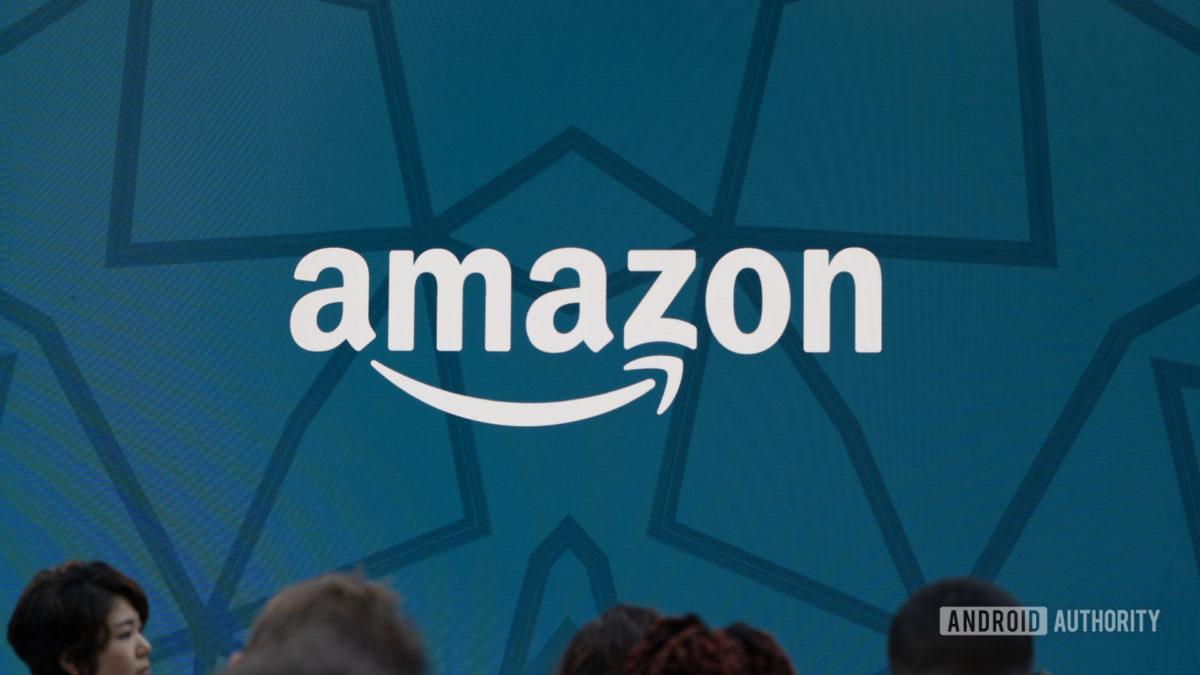 Amazon logo hero shot