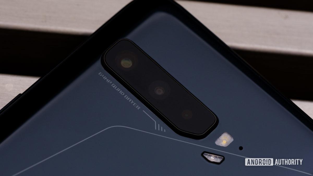 Asus ROG Phone 3 back cameras macro