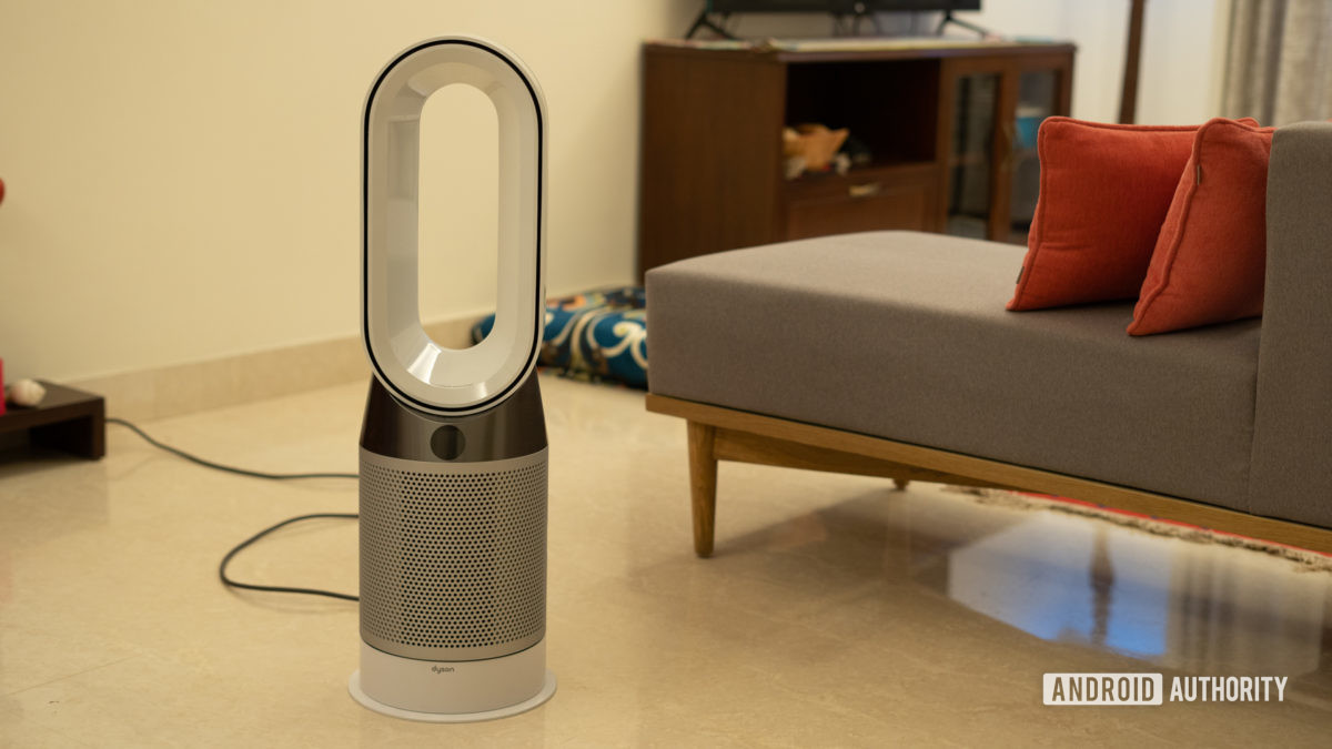 Dyson Pure Hot and Cool Air Purifier in room shot