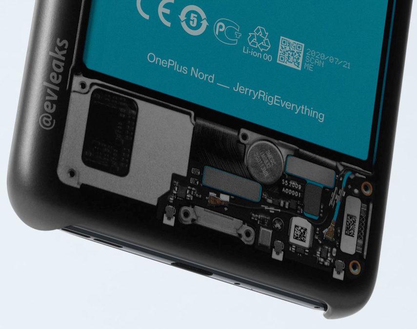 Evan Blass OnePlus Nord battery