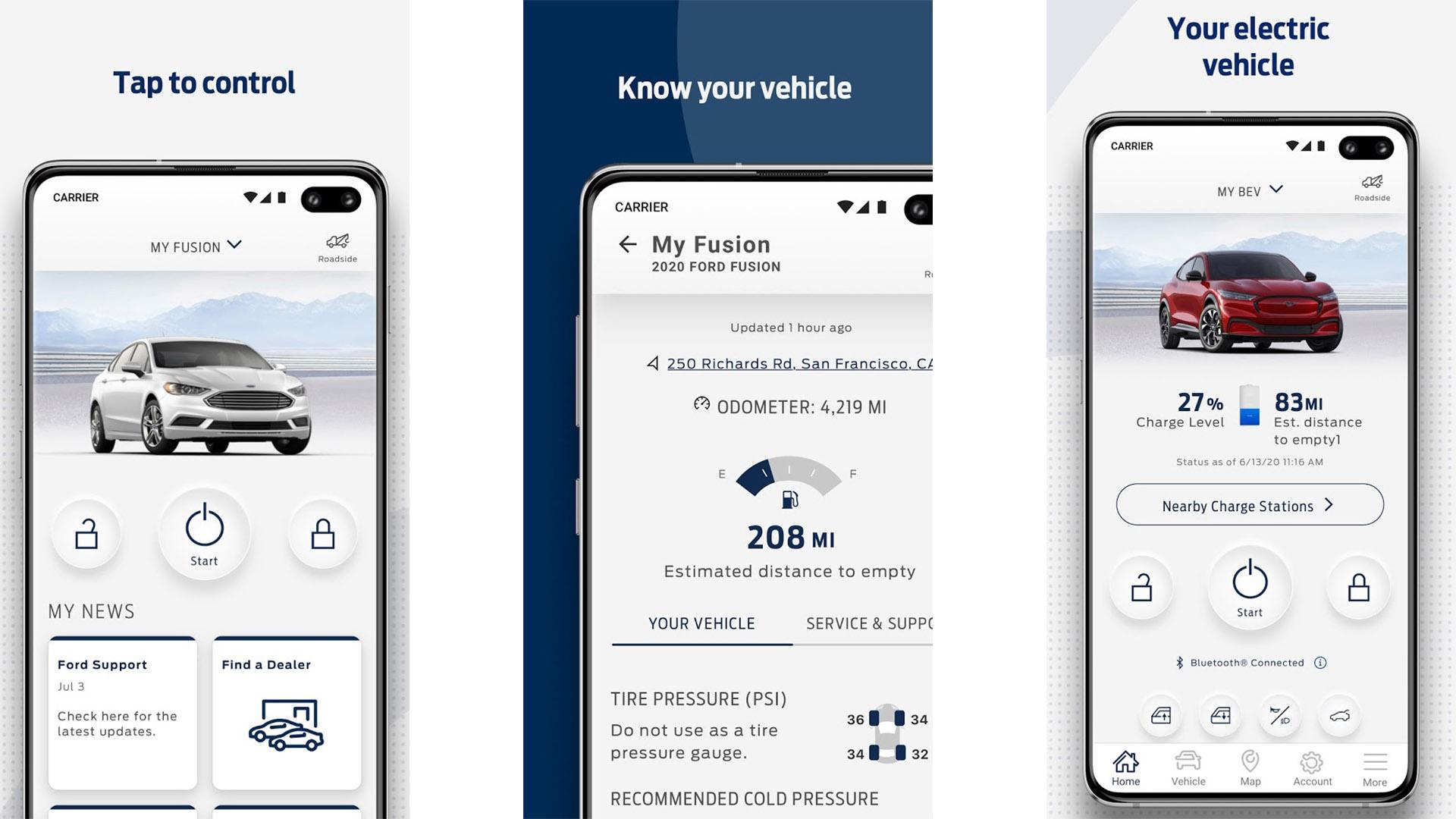 FordPass screenshot 2021