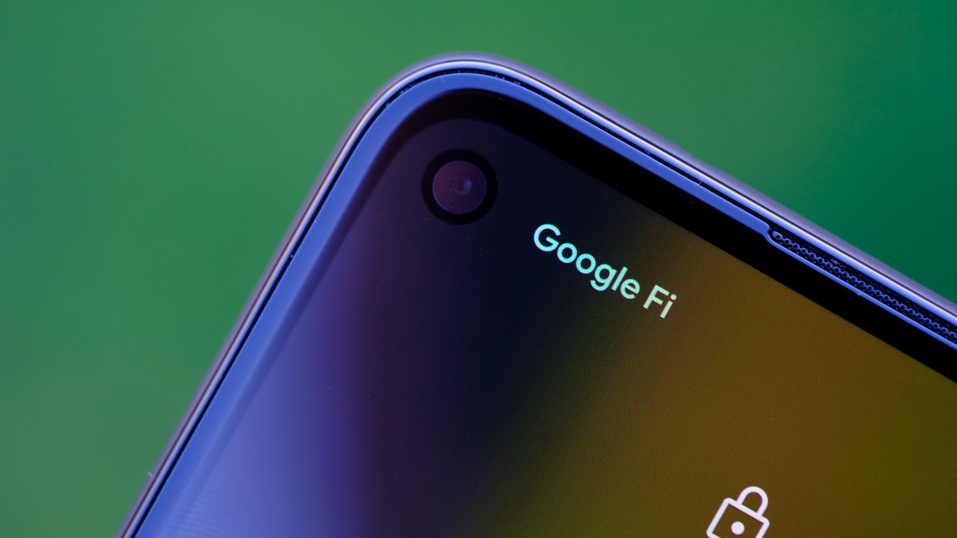 Google Pixel 4a front facing camera macro