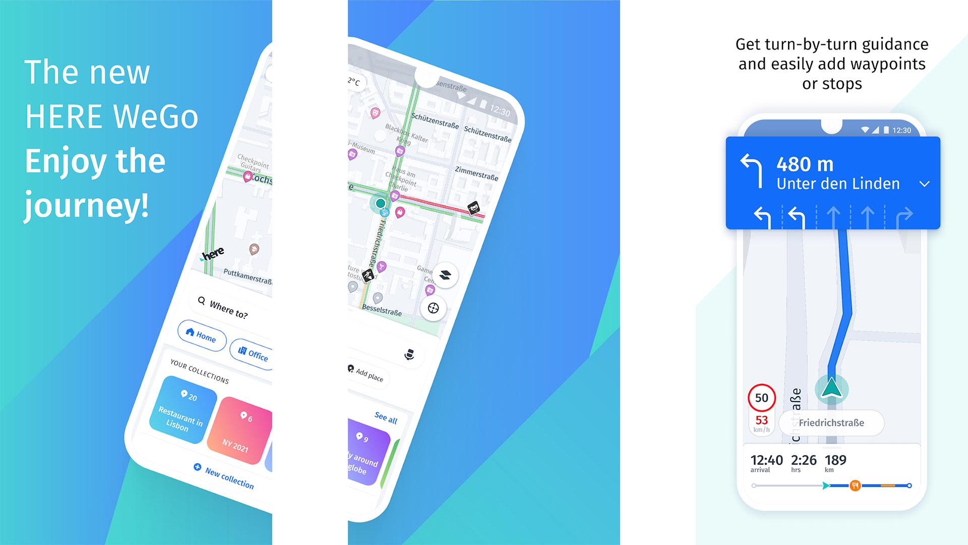 Here WeGo Maps screenshot 2021