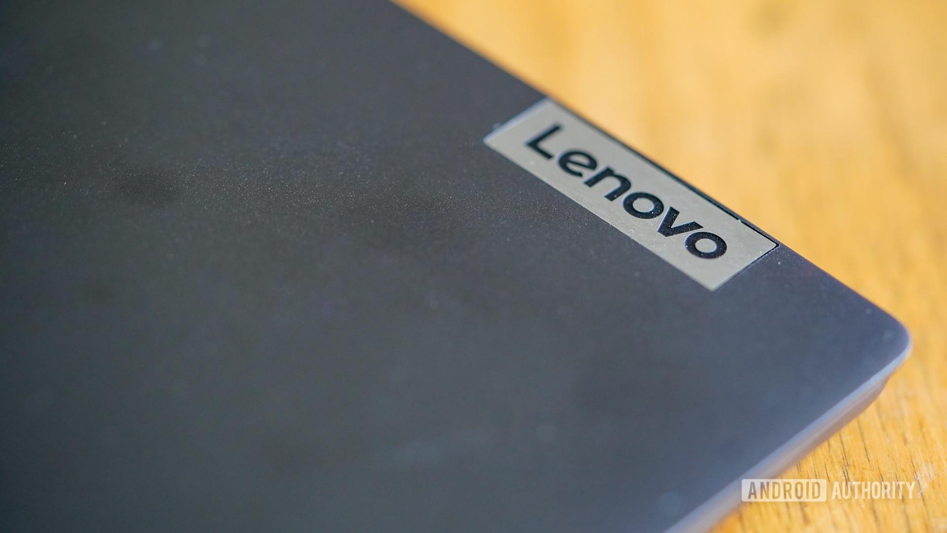 Lenovo Flex 5G angled brand