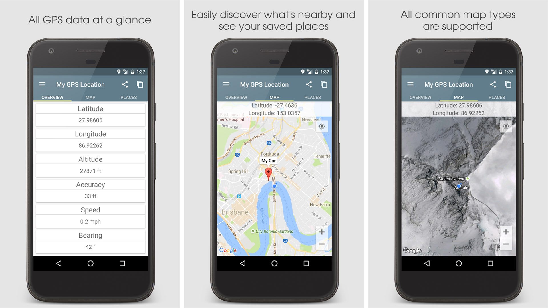 My GPS Location screenshot
