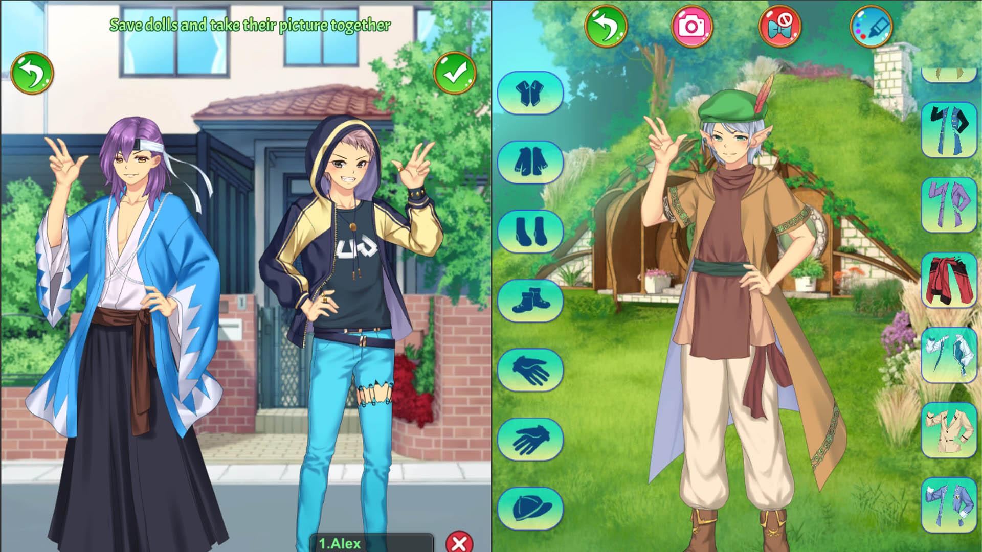 Mystic Prince Dress Up screenshot