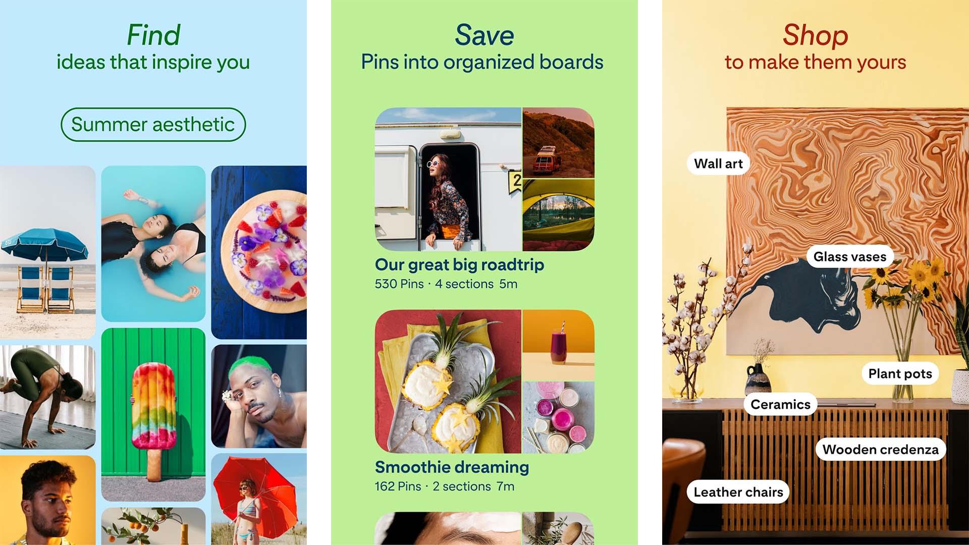 Pinterest screenshot 2021
