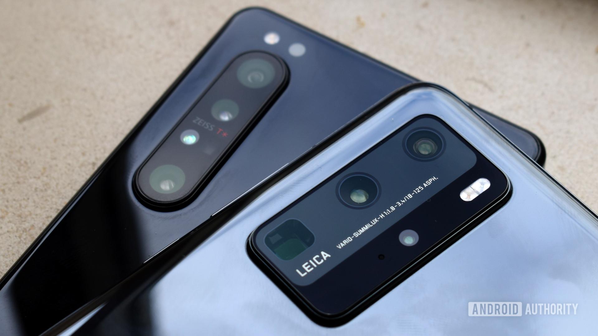 Sony Xperia 1 II vs Huawei P40 Pro camera 3