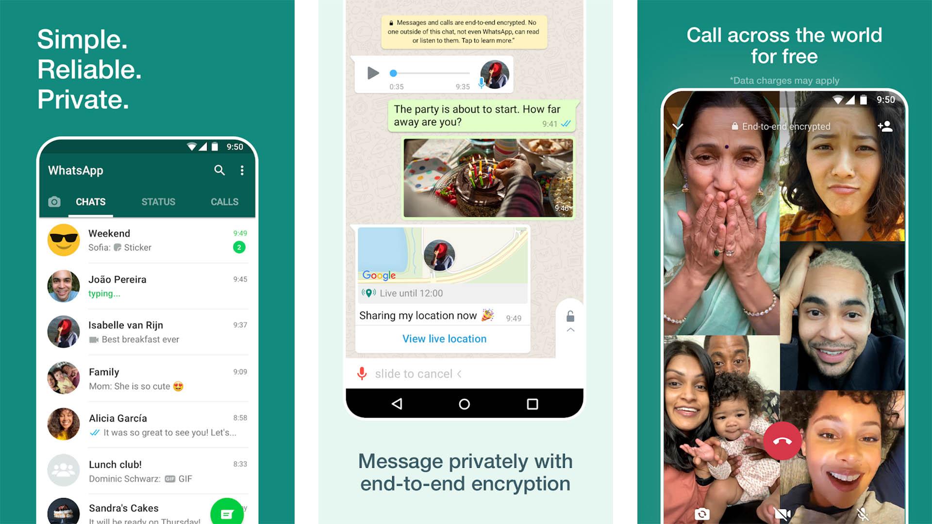 WhatsApp screenshot 2021