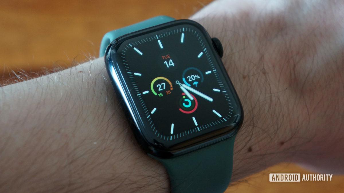 apple watch series 5 meridian face