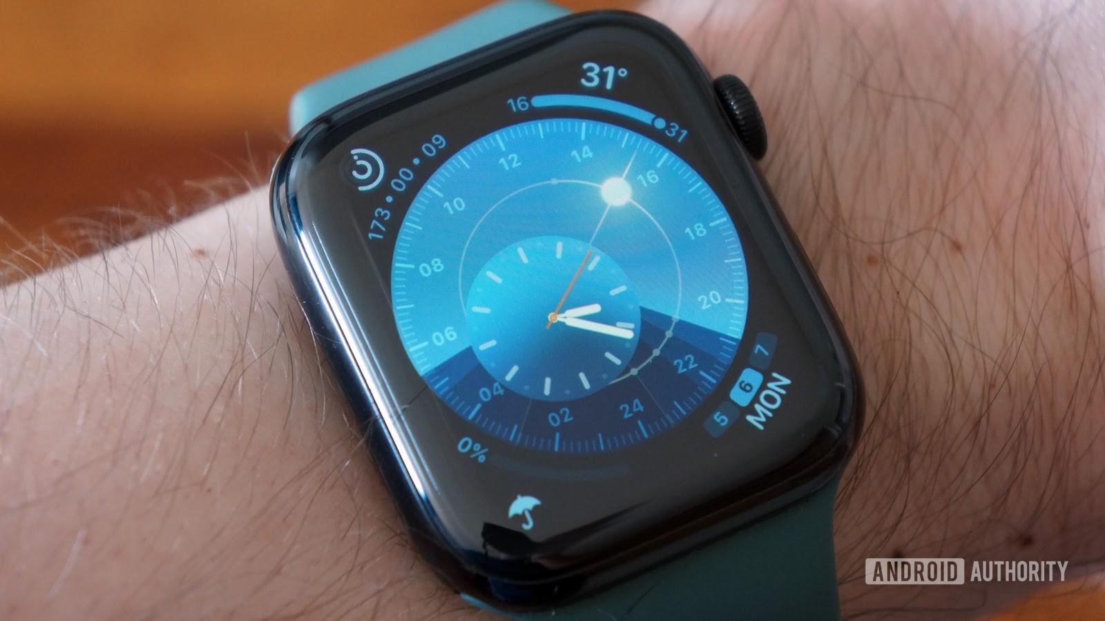 apple watch series 5 solar dial aa