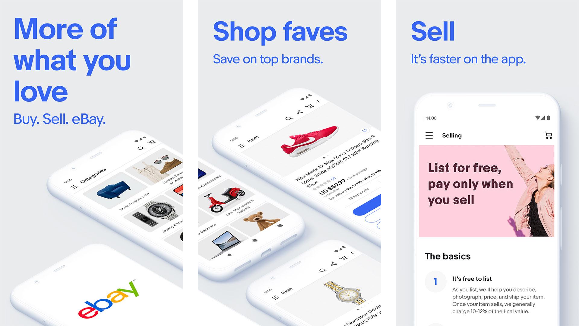 eBay screenshot 2021