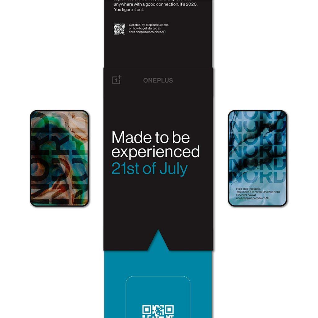 A OnePlus Nord invite via Amazon India and FoneArena.