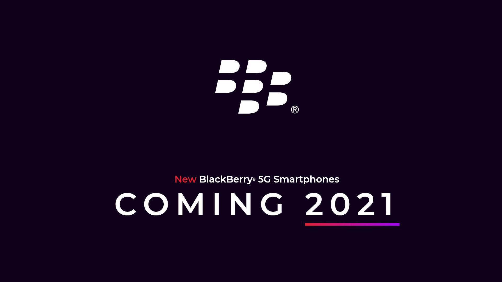 BlackBerry 5G smartphones Onward Mobility