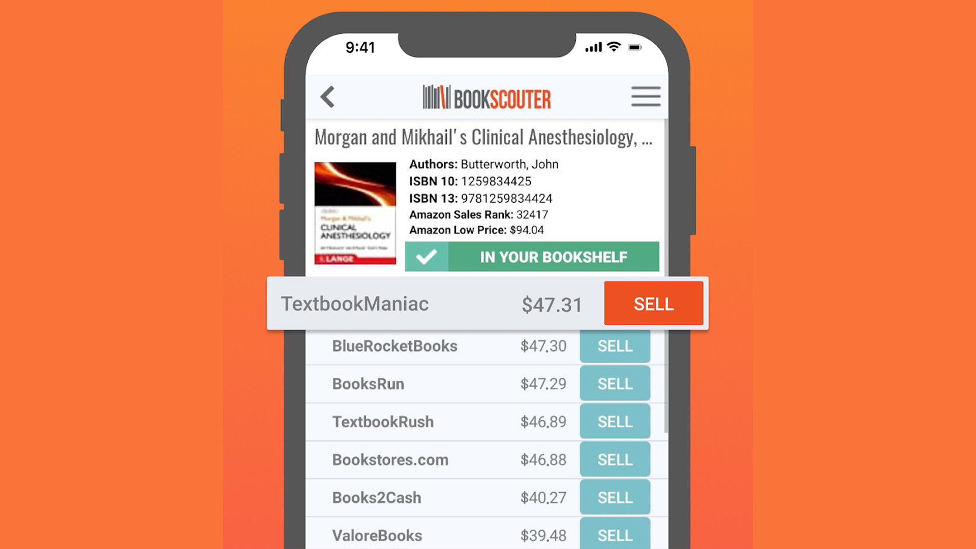 BookScouter best college apps for Android