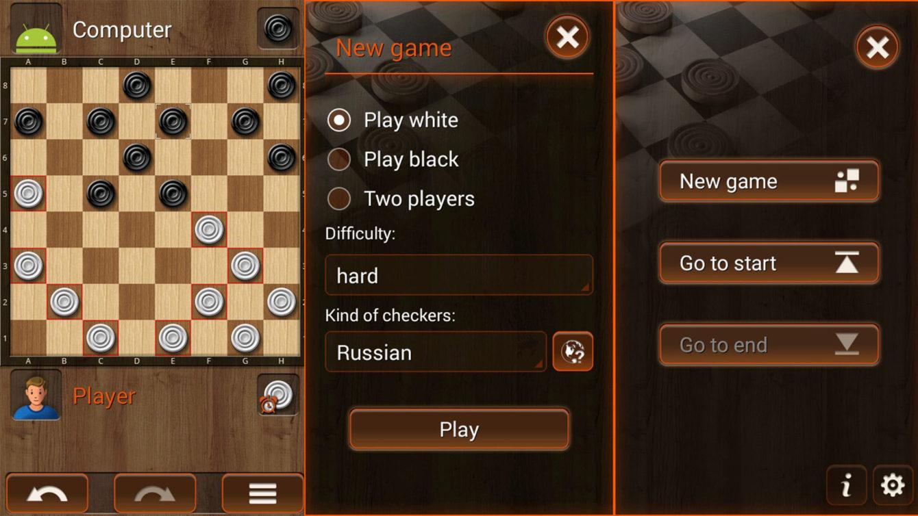 Checkersland screenshot