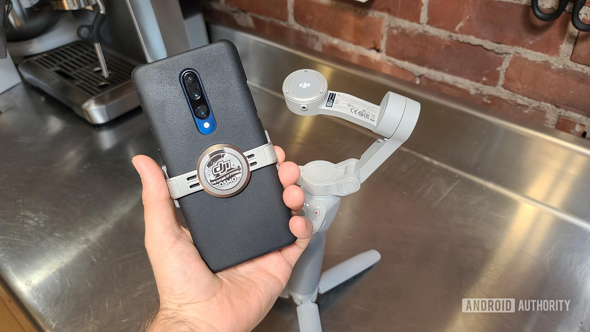 DJI OM 4 Hands On Clip On Smartphone