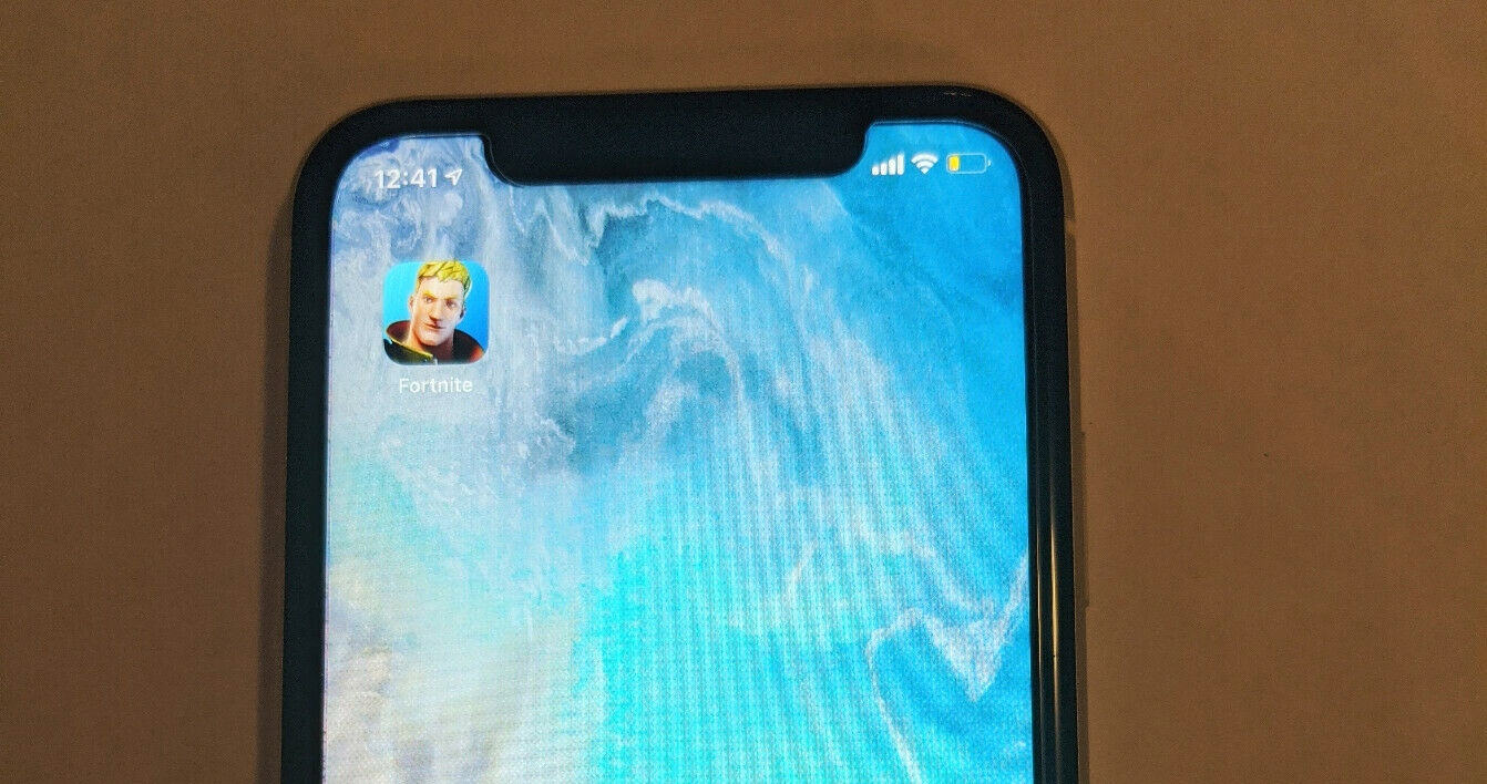 Fortnite On Used iPhone 11