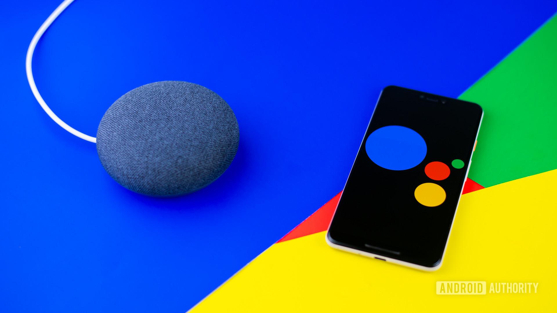 Google Assistant stock photo 3