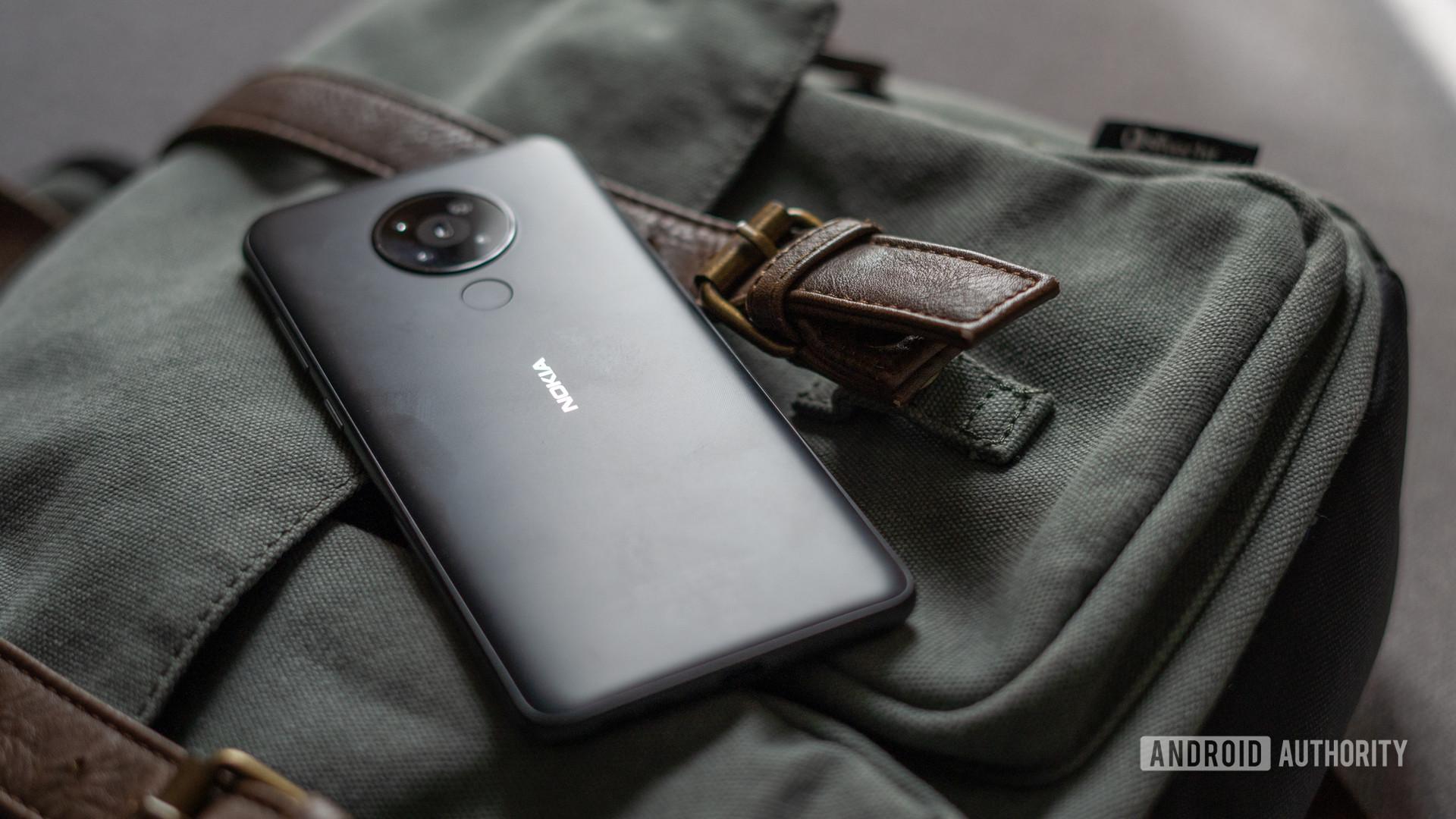 Nokia 5.3 rear profile