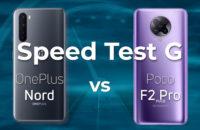 OnePlus Nord vs Poco F2 Pro Speed Test G