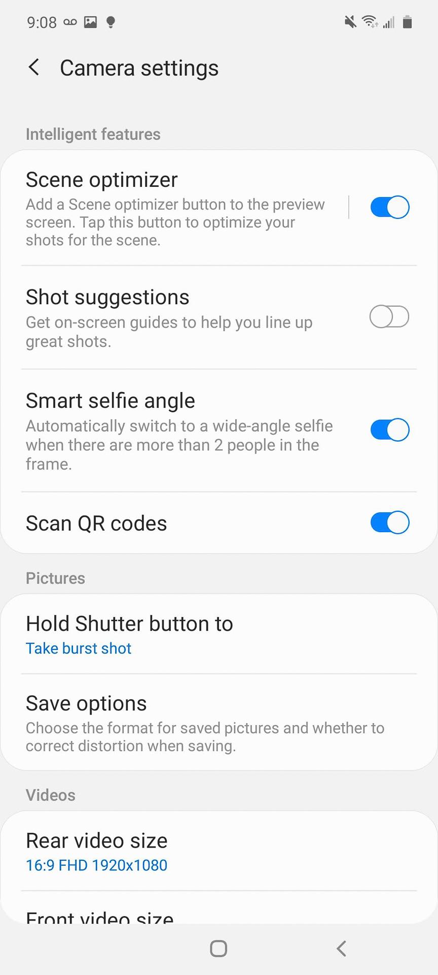 Samsung Galaxy A71 5G Camera 2