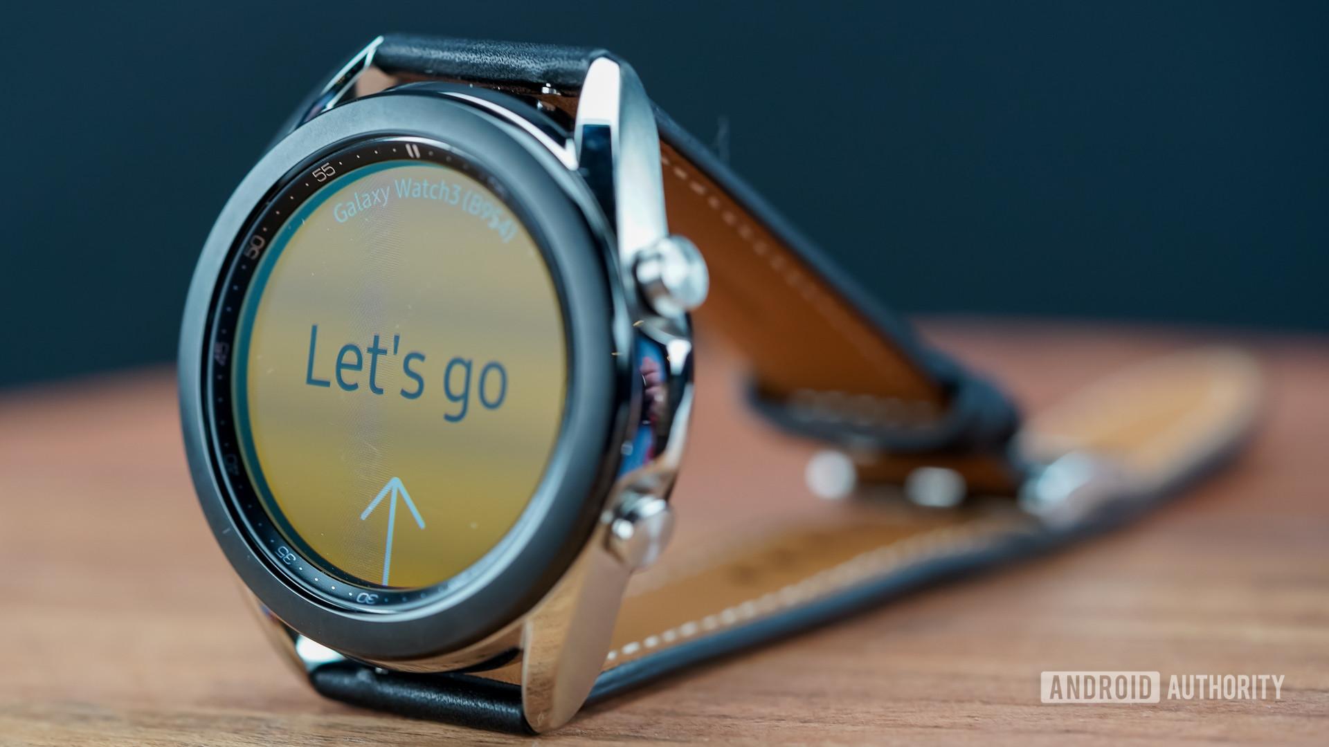 Samsung Galaxy Watch 3 right profile
