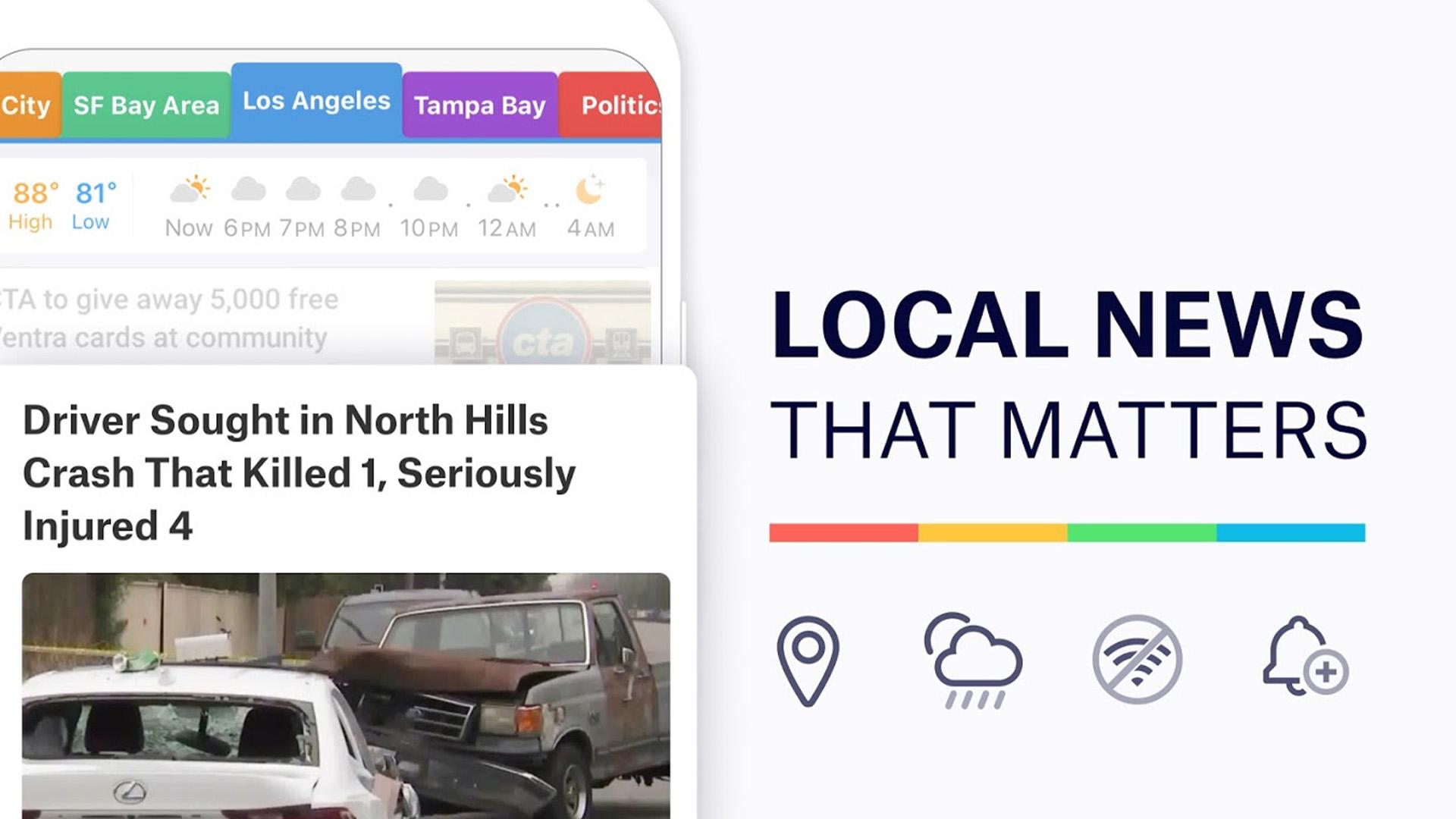 SmartNews screenshot 2021