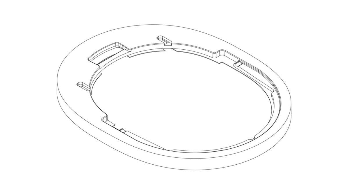 Sonos wireless headphones cradle patent office render