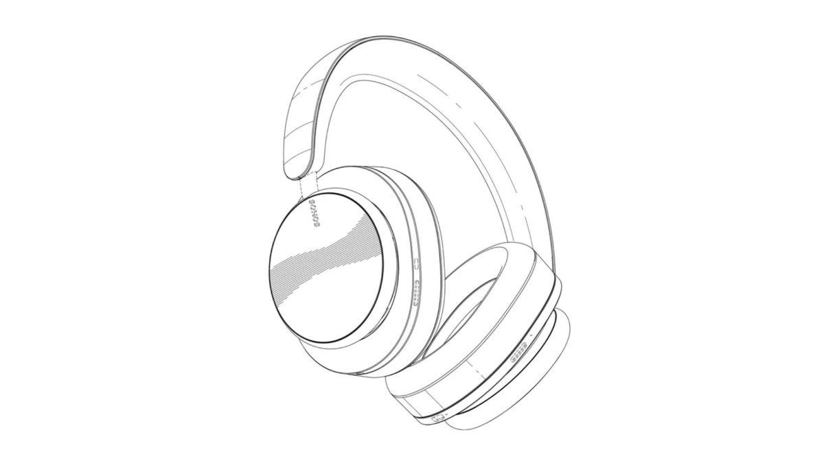Sonos wireless headphones patent office render 1