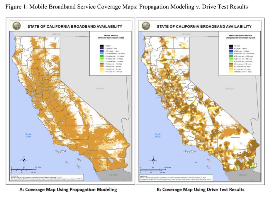 california mobile maps