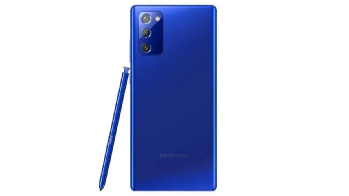 Samsung Note 20 Mystic Blue