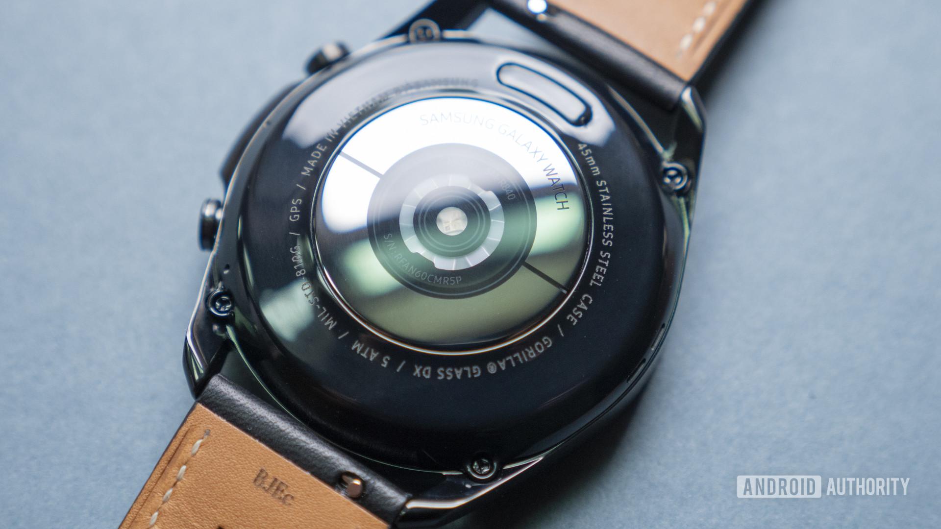 samsung galaxy watch 3 review heart rate sensor1