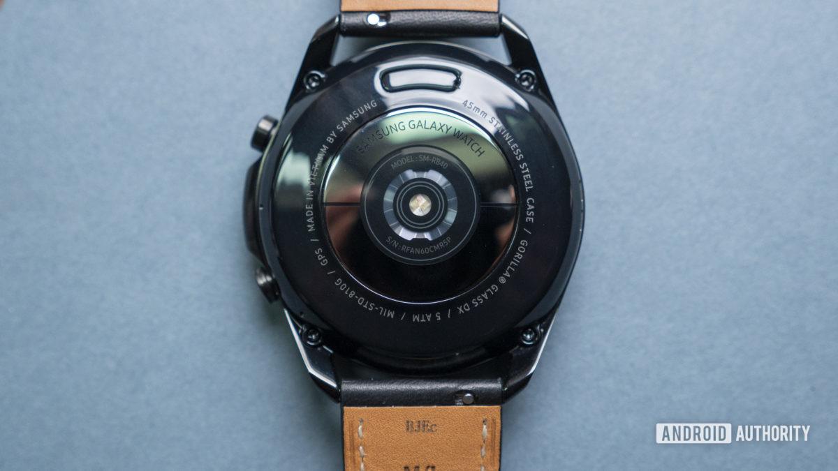 samsung galaxy watch 3 review heart rate sensor2