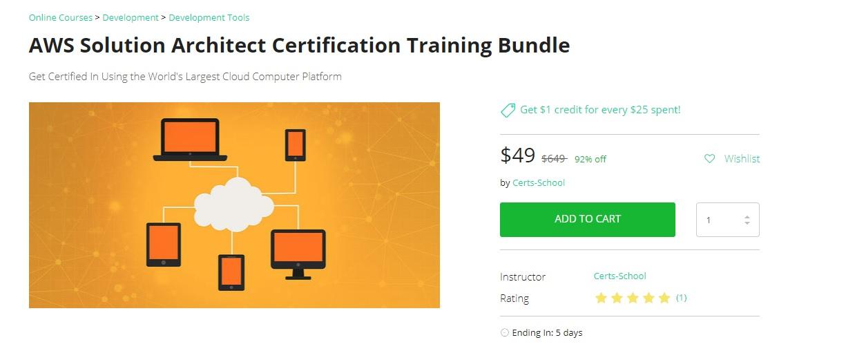 AWS Solution Architect Certification Training Bundle