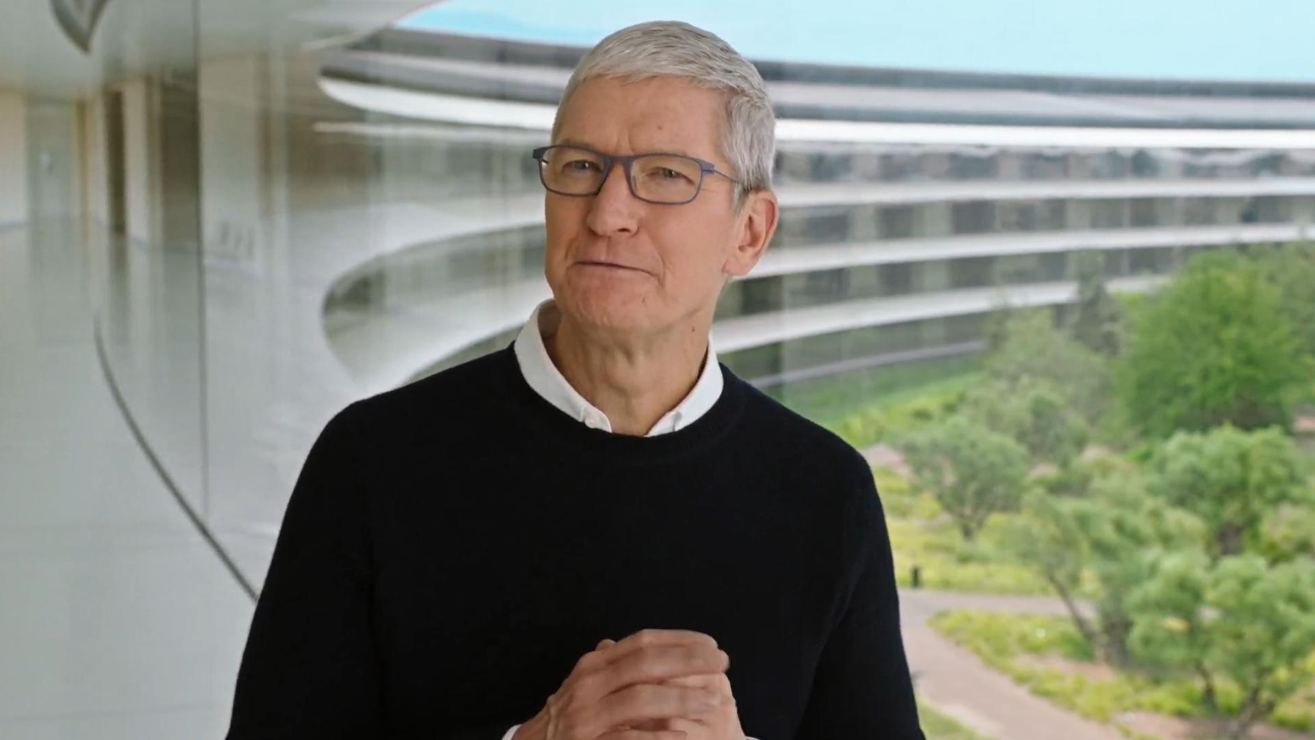 Apple Event Tim Cook