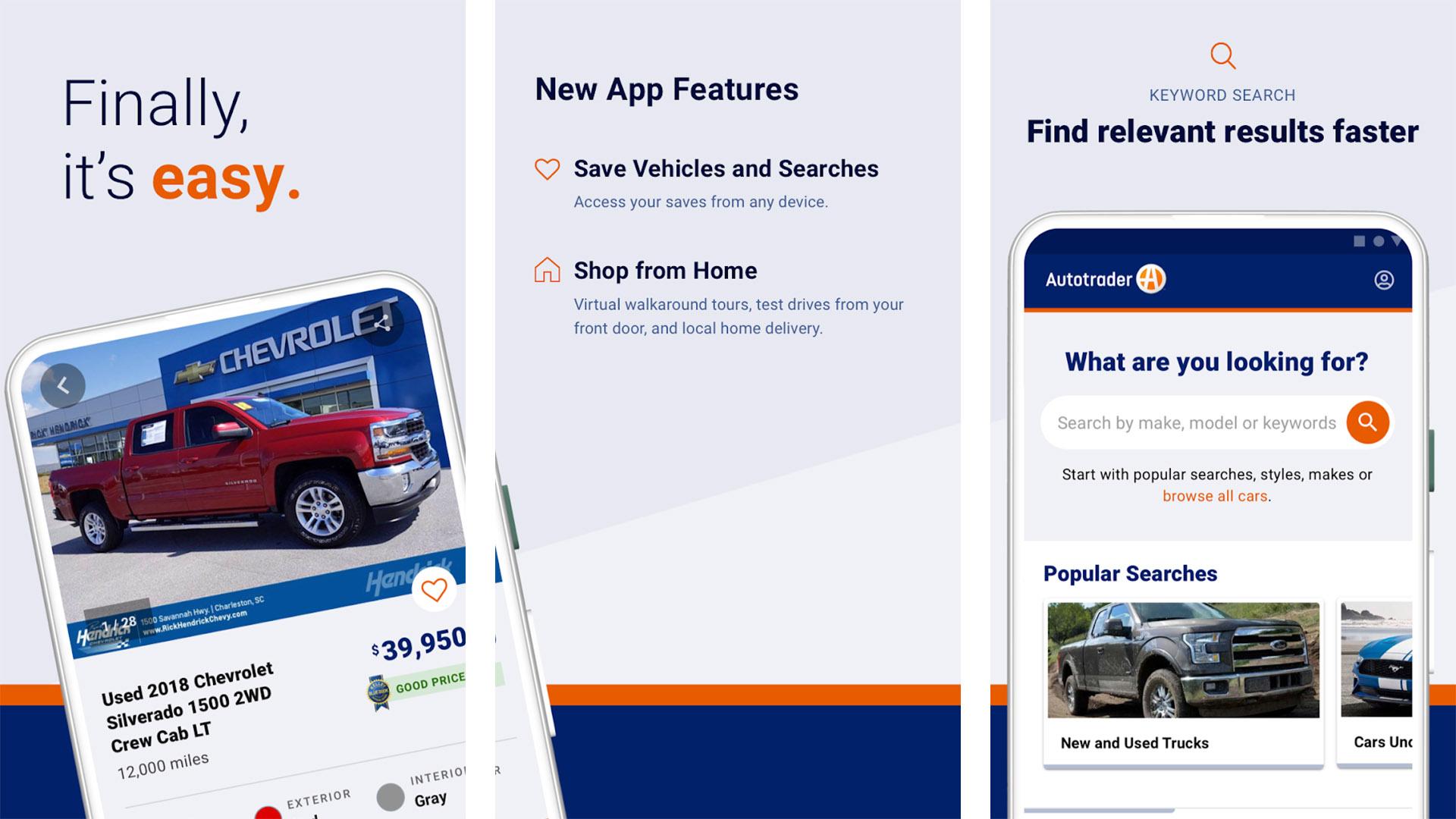 Autotrader 2021 screenshot