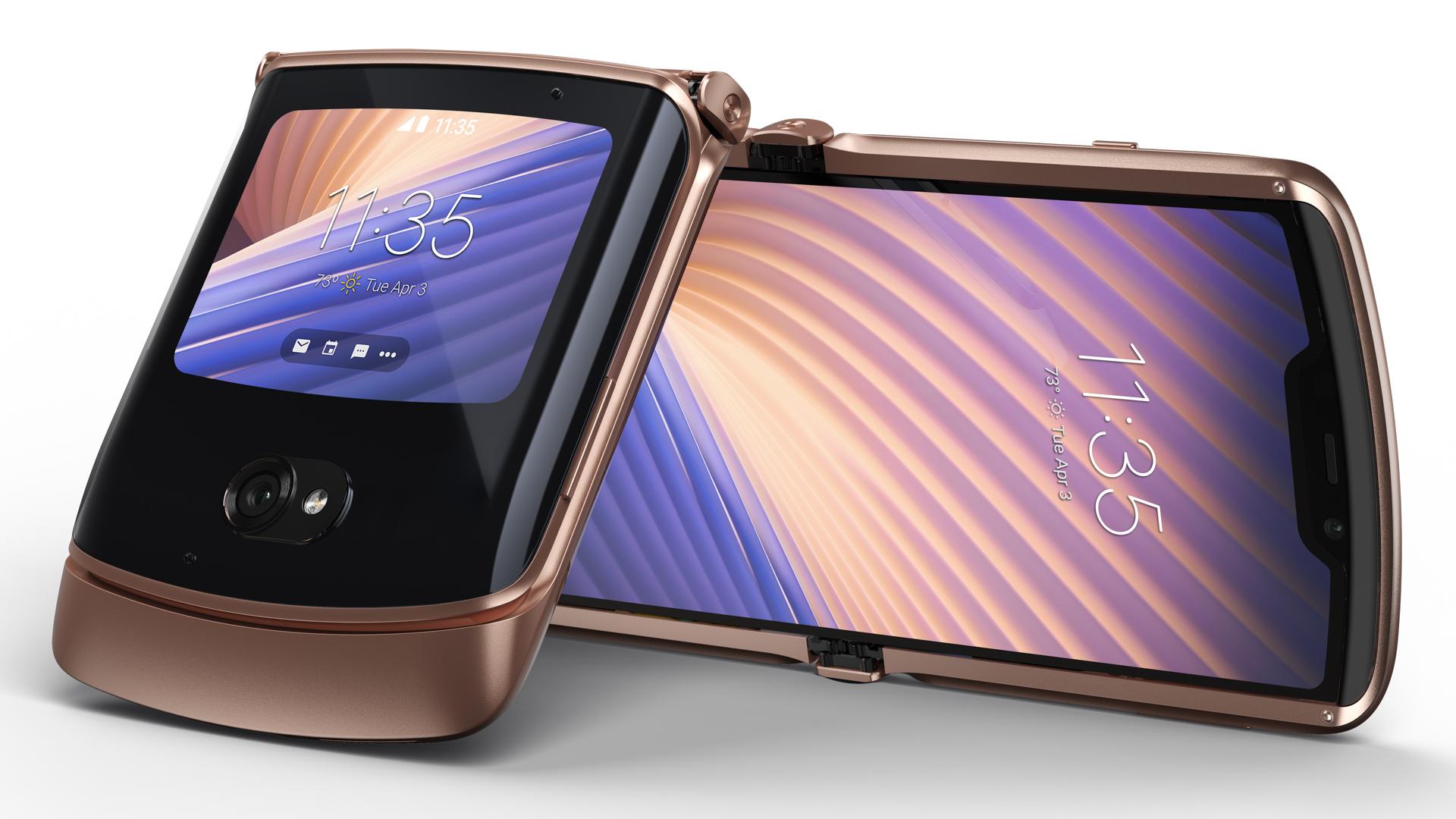 Motorola Razr 5G foldable smartphone 2020