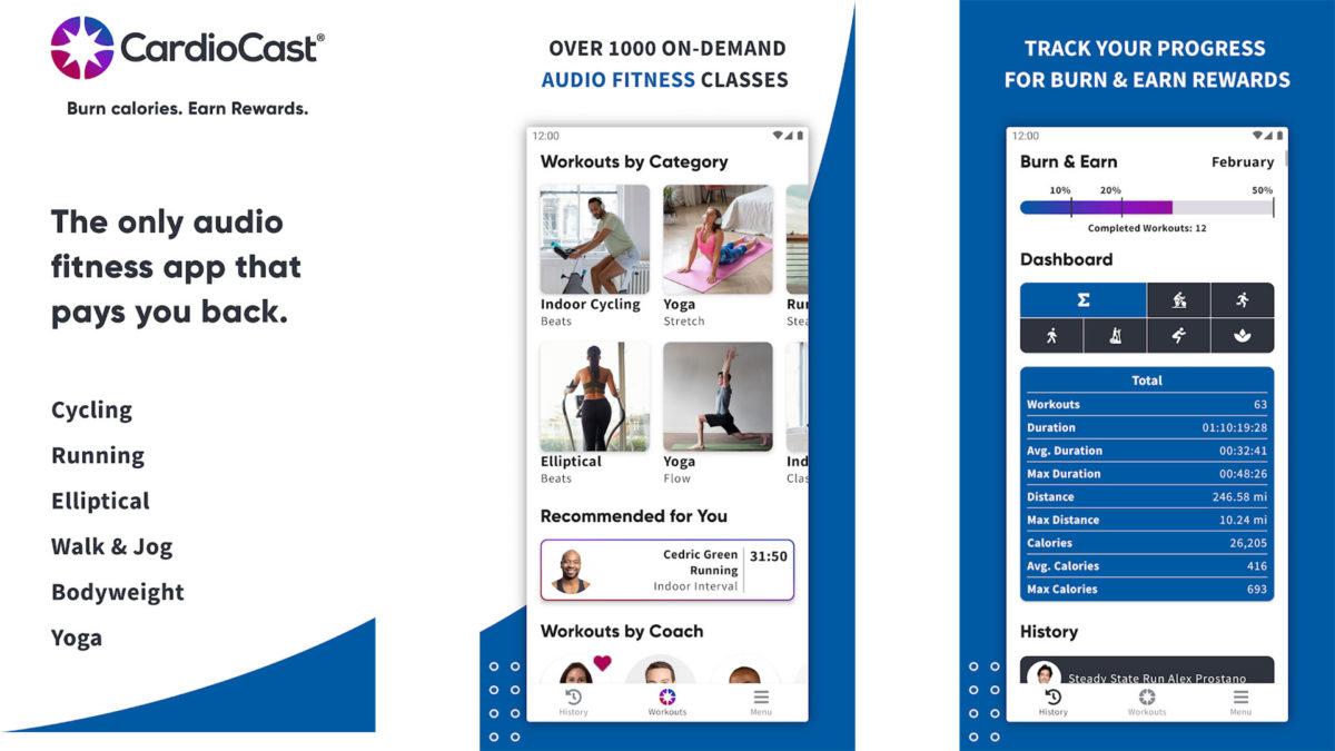 CardioCast screenshot 2021