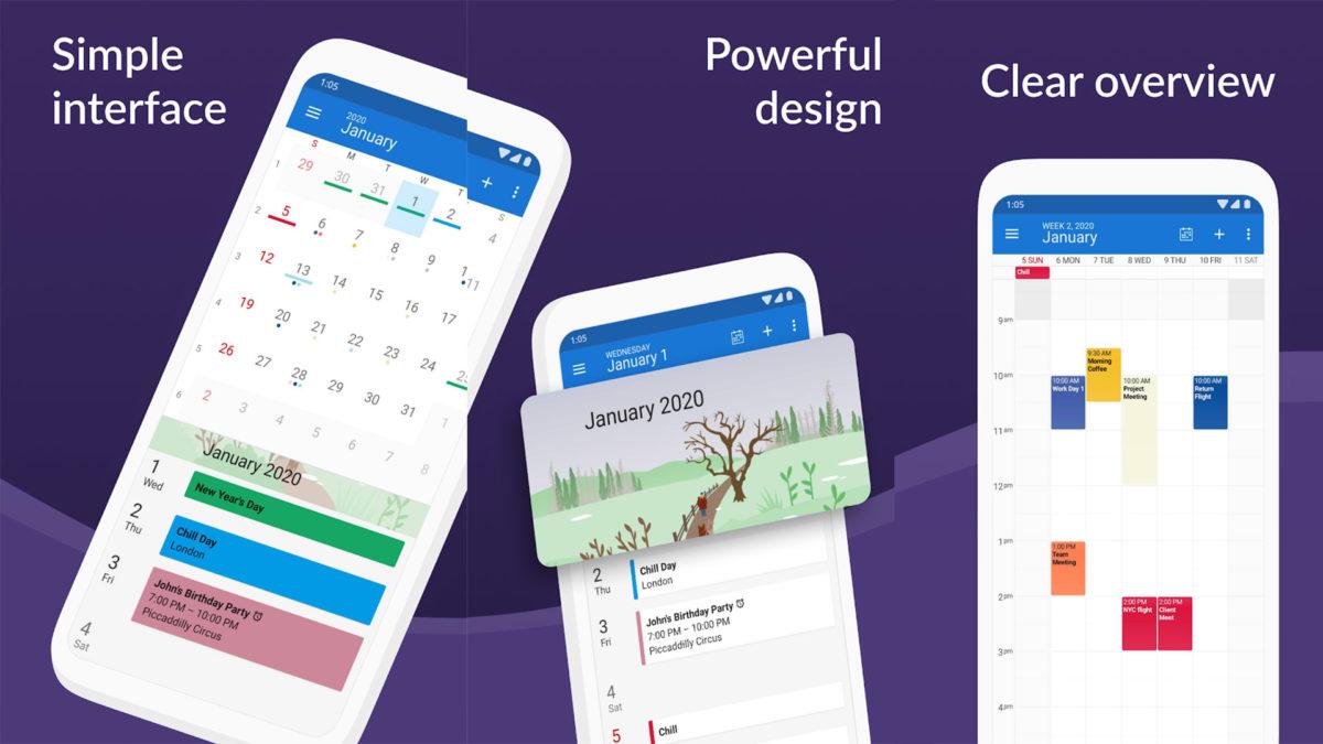 DigiCal Calendar Agenda screenshot