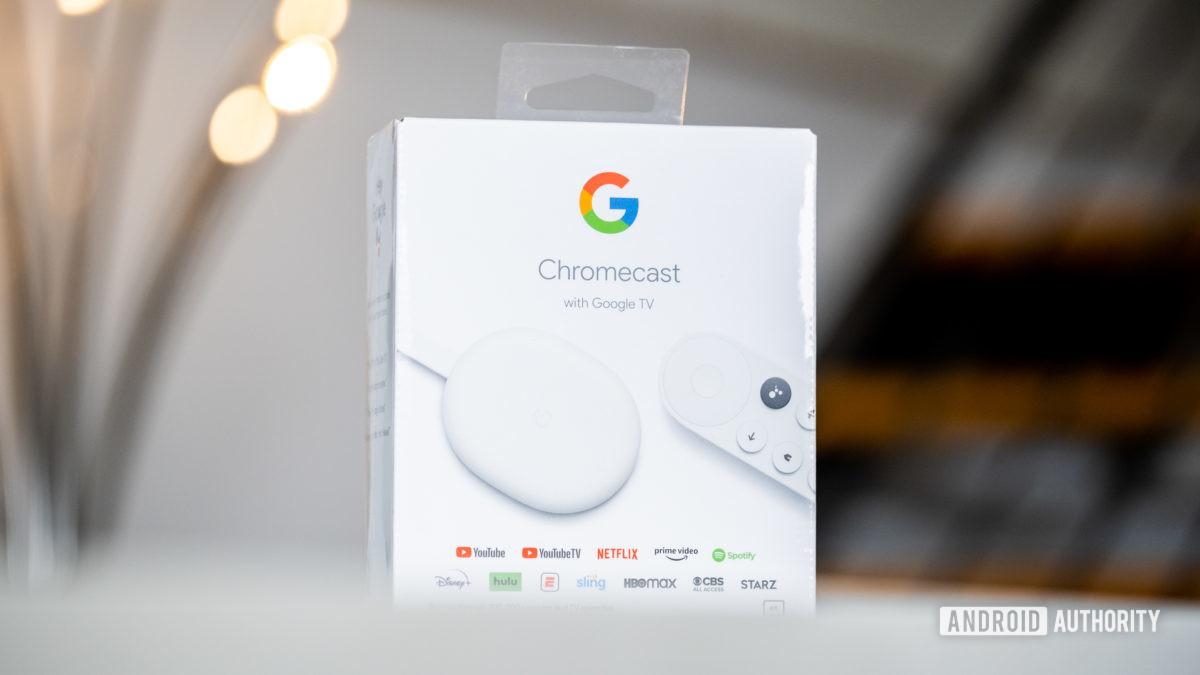 Google Chromecast mit Google TV-Box