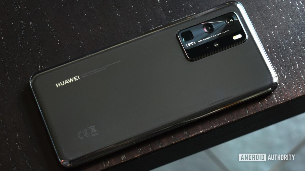 Huawei P40 Pro back 2