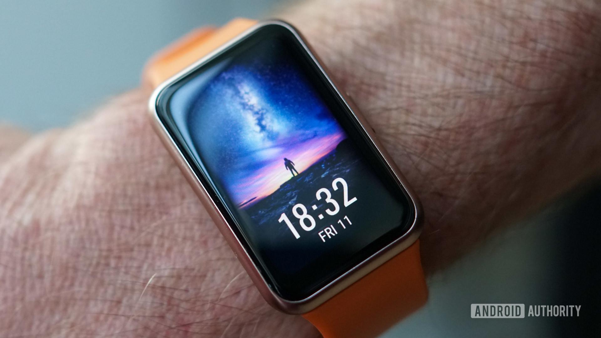 Huawei Watch Fit home screen watch face