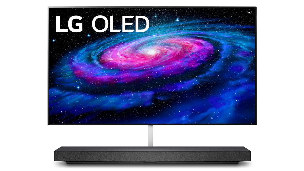 LG WX 65 inch TV