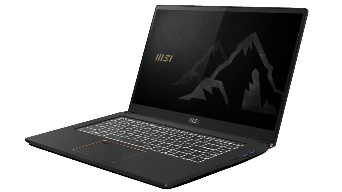 An image showing MSI Summit E15 laptop