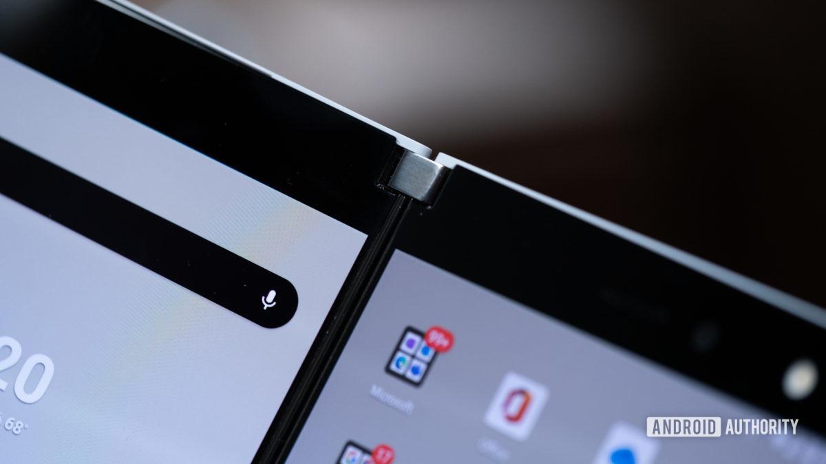 Microsoft Surface Duo hinge