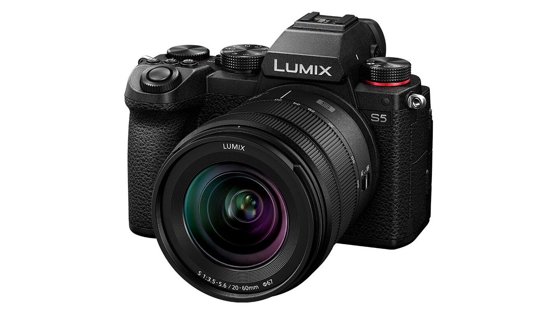 Panasonic Lumix S5 angled