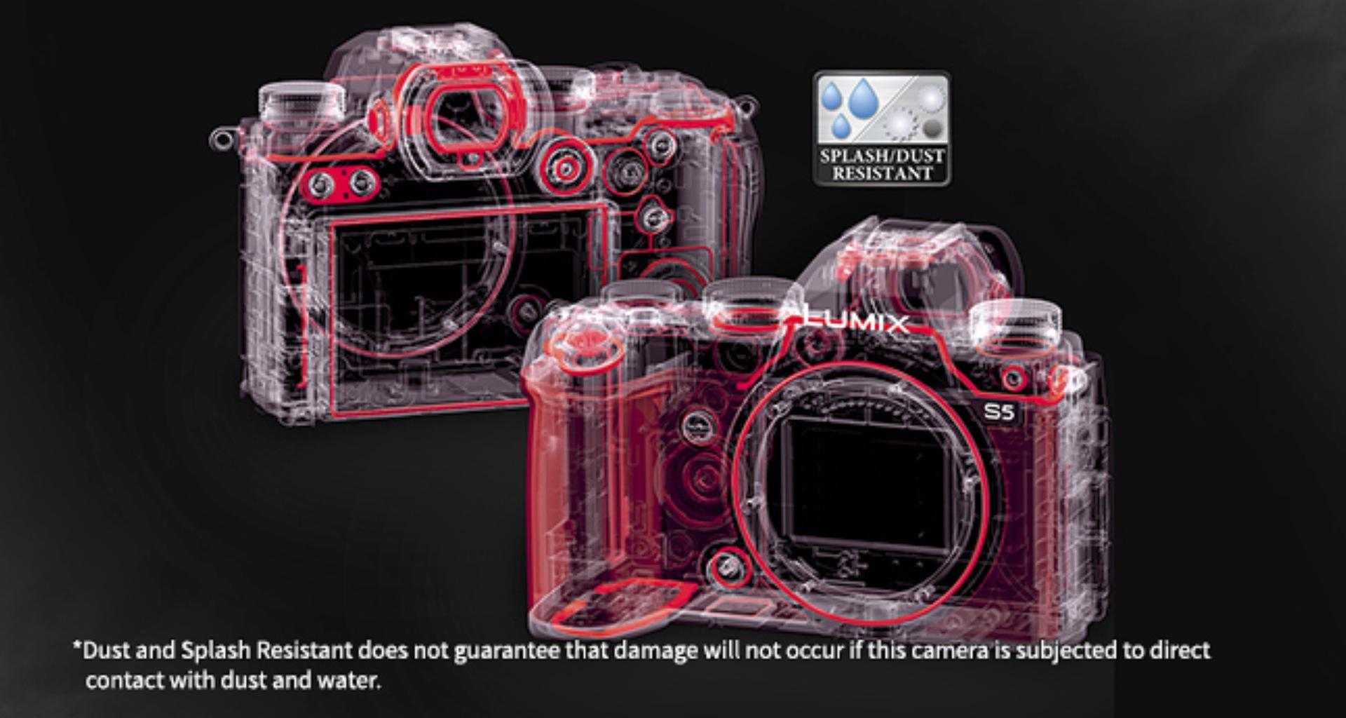 Panasonic Lumix S5 rugged