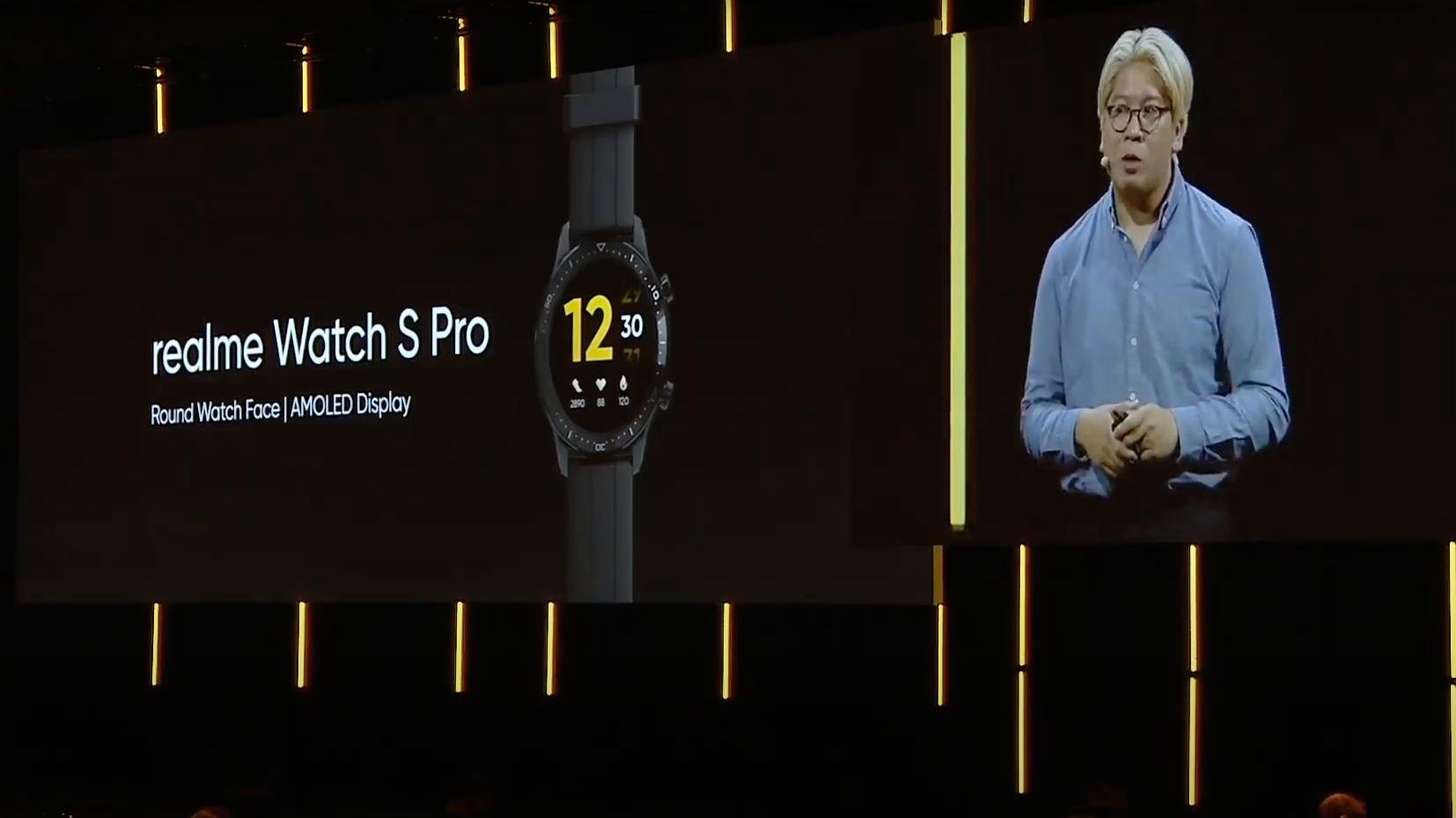 Realme Watch S Pro IFA Presentation