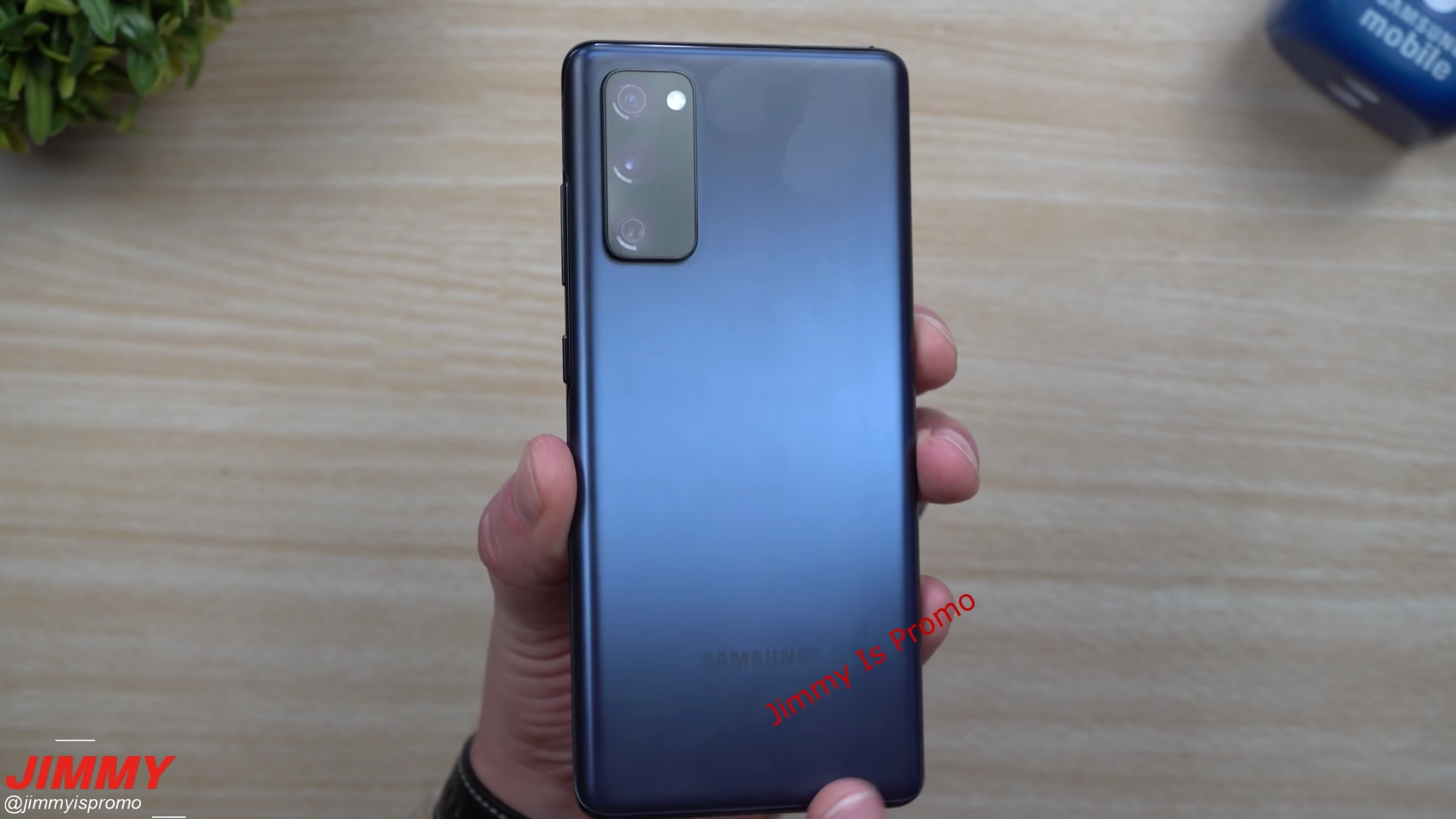 Samsung Galaxy S20 FE Leaked Hands On